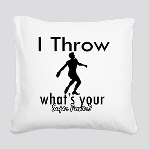 throw Square Canvas Pillow