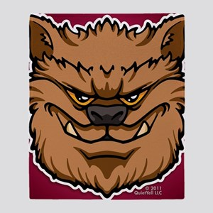 11x17_print_werewolf_img Throw Blanket