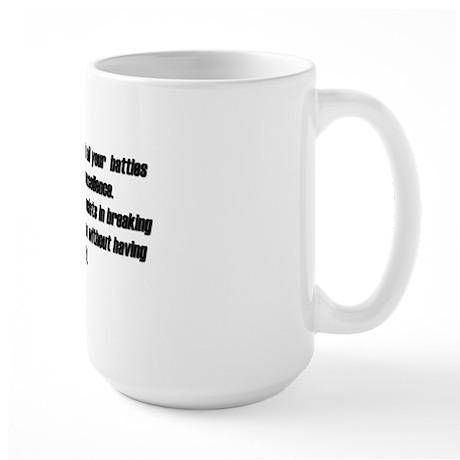 Supreme Excellence Large Mug