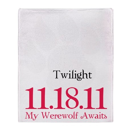werewolfAwaits12 Throw Blanket