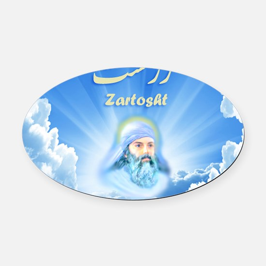 fb-page-czm-2011-small-2 Oval Car Magnet