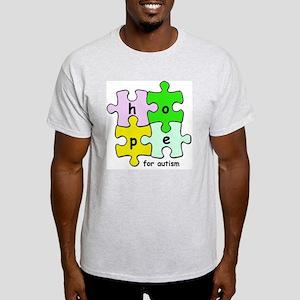 autism2 Light T-Shirt