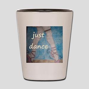 just dance Shot Glass