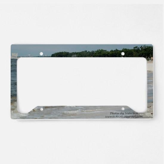 beach License Plate Holder