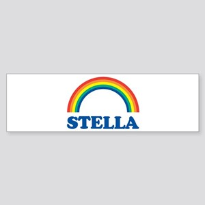 STELLA (rainbow) Bumper Sticker