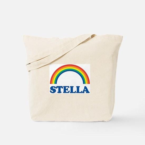 STELLA (rainbow) Tote Bag