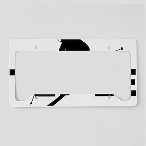TELE black License Plate Holder