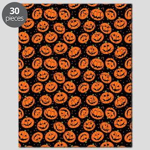Halloween Pumpkin Flip Flops Puzzle