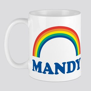 MANDY (rainbow) Mug