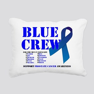 blue crew 4men Rectangular Canvas Pillow