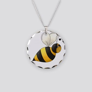 bee1 Necklace Circle Charm