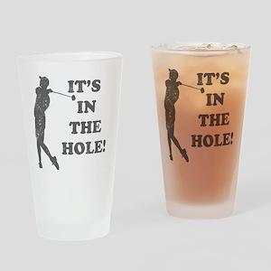 inthehole Drinking Glass