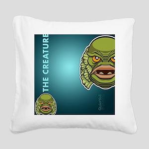 flipflop_creature Square Canvas Pillow