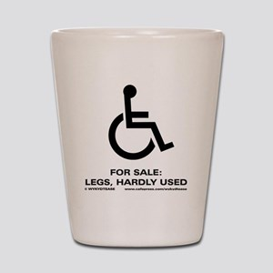 Leg 4 Sale Shot Glass