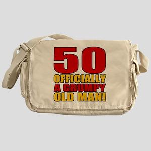 GrumpyOldMan50 Messenger Bag
