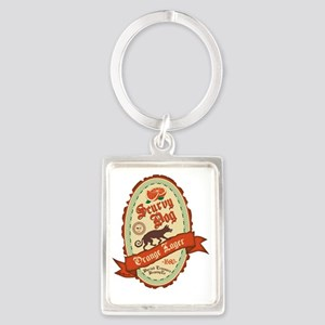 pirate-beers-01 Portrait Keychain