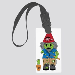 zombiegnome-01 Large Luggage Tag