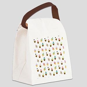 7temp_flip_flops Canvas Lunch Bag