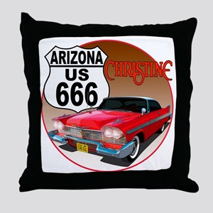 666-AZ-Christine-C10trans Throw Pillow