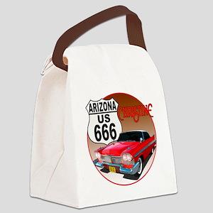 666-AZ-Christine-C10trans Canvas Lunch Bag