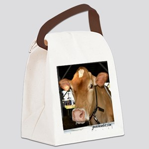 Beautiful cow Canvas Lunch Bag