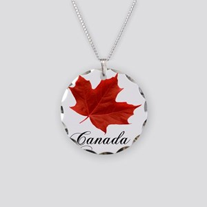 O-Canada-MapleLeaf-Ottawa-4- Necklace Circle Charm