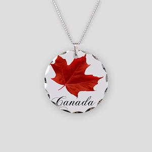 O-Canada-MapleLeaf-Ottawa-4- Necklace Circle Charm