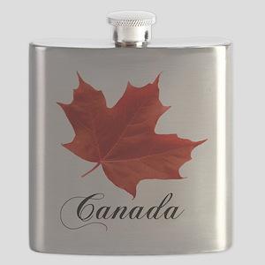 O-Canada-MapleLeaf-Ottawa-4-blackLetters cop Flask
