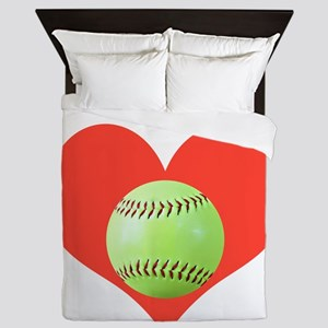Softball T-Shirts  Gifts, Take It To H Queen Duvet