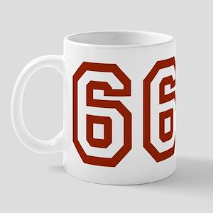 666wboyshortred Mug