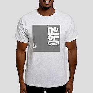 flipflop_hopefellowship_whiteongray Light T-Shirt