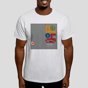 flipflop_hopefellowship_4clrongray Light T-Shirt