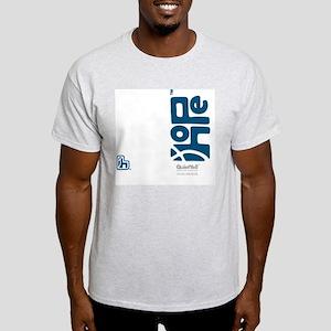 flipflop_hopefellowship_blueonwhite Light T-Shirt