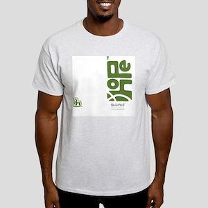flipflop_hopefellowship_greenonwhite Light T-Shirt