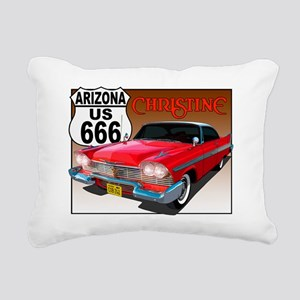 666-AZ-Christine-8x10 Rectangular Canvas Pillow