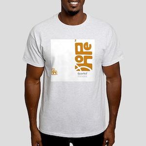 flipflop_hopefellowship_yellowonwhit Light T-Shirt