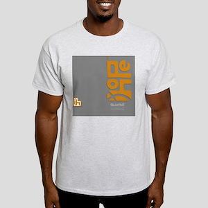 flipflop_hopefellowship_yellowongray Light T-Shirt