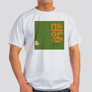 flipflop_hopefellowship_yellowongree Light T-Shirt