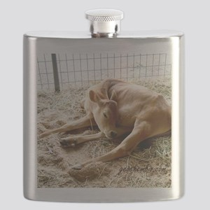 Sleeping calf Flask
