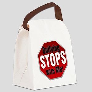Good-Logo-StopSign Canvas Lunch Bag