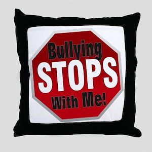 Good-Logo-StopSign Throw Pillow