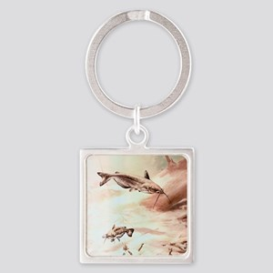 channel-catfish_w579_h725 Square Keychain
