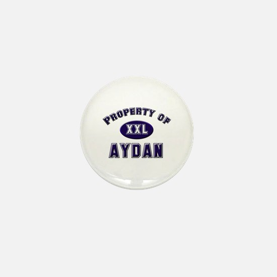 Property of aydan Mini Button