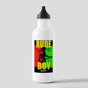RUDE BOY one sheet Stainless Water Bottle 1.0L