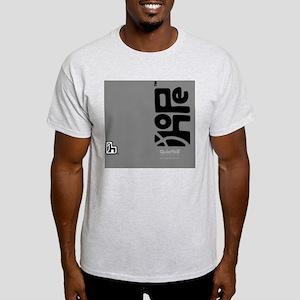 flipflop_hopefellowship_blackongray Light T-Shirt