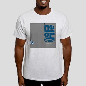 flipflop_hopefellowship_blueongray Light T-Shirt