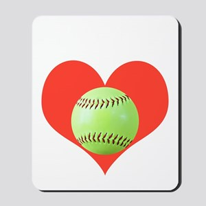 Softball T-Shirts  Gifts, Take It To Hea Mousepad