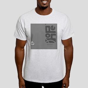 flipflop_hopefellowship_grayongray Light T-Shirt