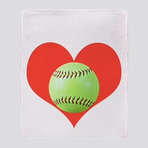Softball T-Shirts  Gifts, Take It To Throw Blanket