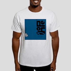 flipflop_hopefellowship_blackonblue Light T-Shirt